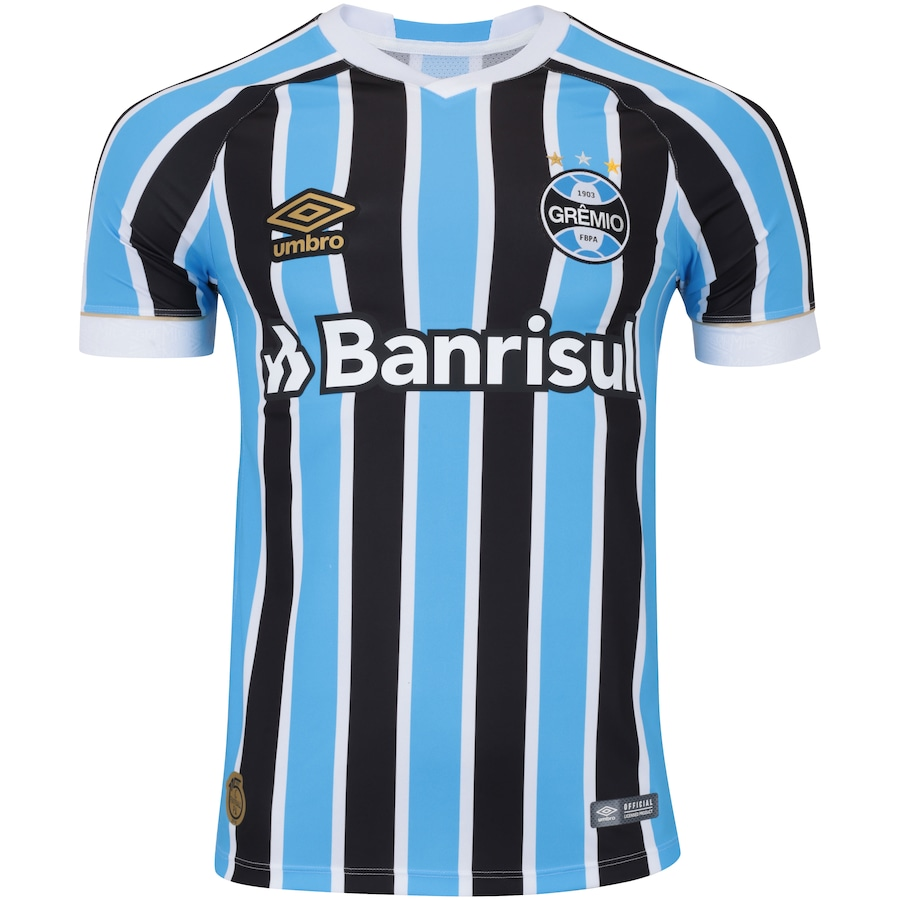 Camisa do Grêmio I 2018 Umbro - Masculina d09582673e1a9
