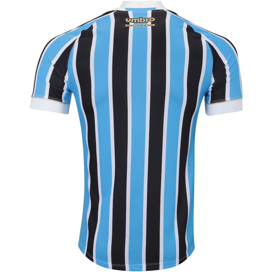 f63953d631 Camisa do Grêmio I 2018 Umbro - Masculina