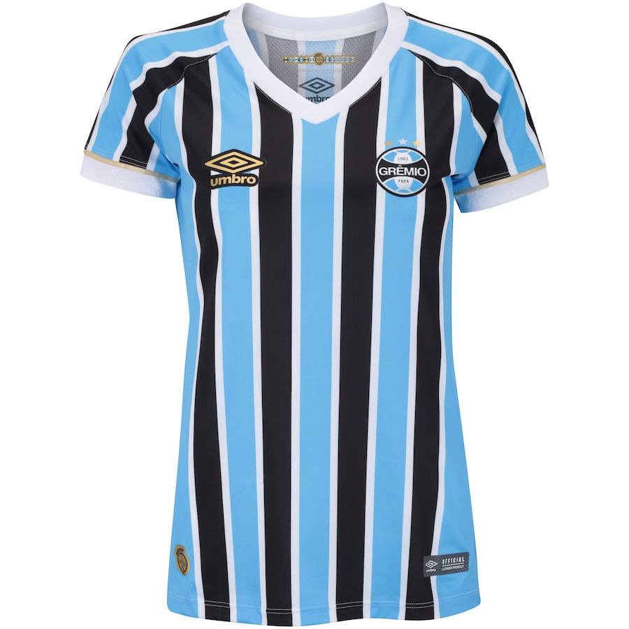 Camisa do Grêmio I 2018 Umbro - Feminina 246e88ee38069