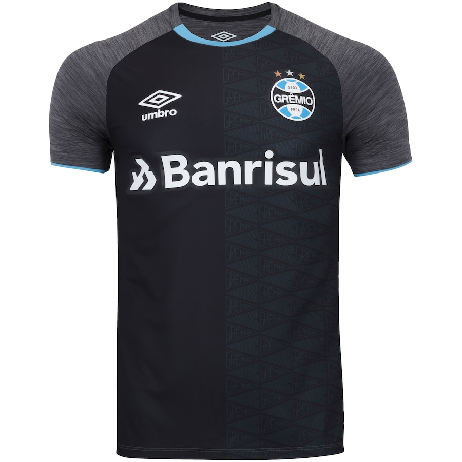 Camisa do Grêmio Aquecimento 2018 Umbro - Masculina 692c59638d655