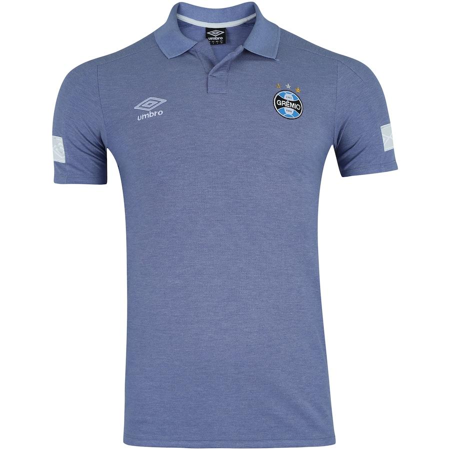 Camisa Polo do Grêmio Viagem 2018 Umbro - Masculina 4d41f21a2dc6e