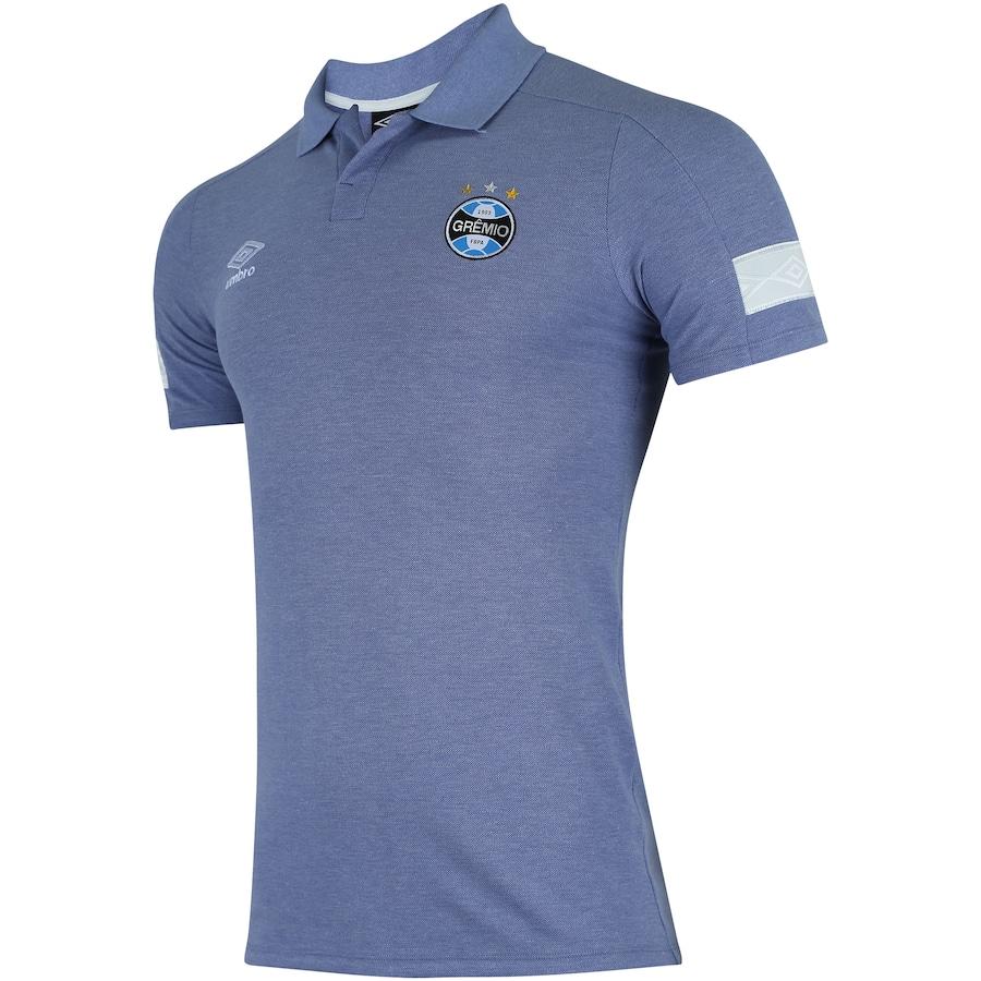 Camisa Polo do Grêmio Viagem 2018 Umbro - Masculina b907bc8465b29