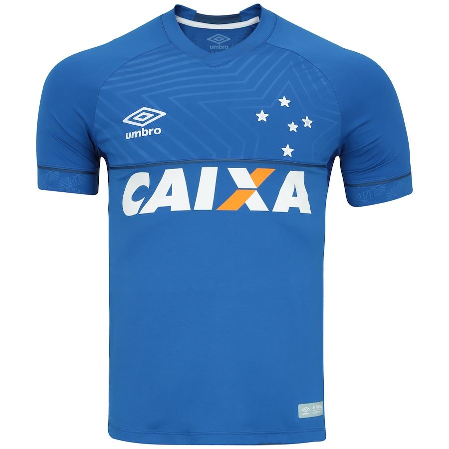 06e0a367be745 Camisa do Cruzeiro I 2018 Umbro - Jogador