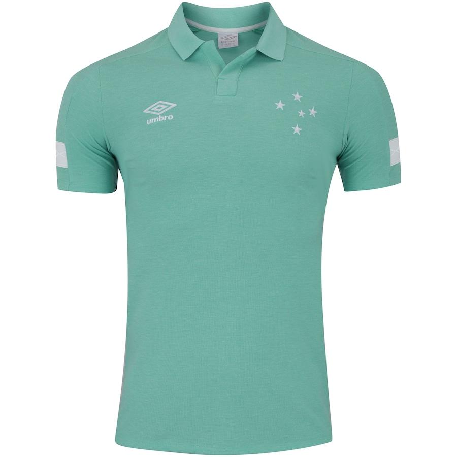 4da2e9674b Camisa Polo do Cruzeiro Viagem 2018 Umbro - Masculina