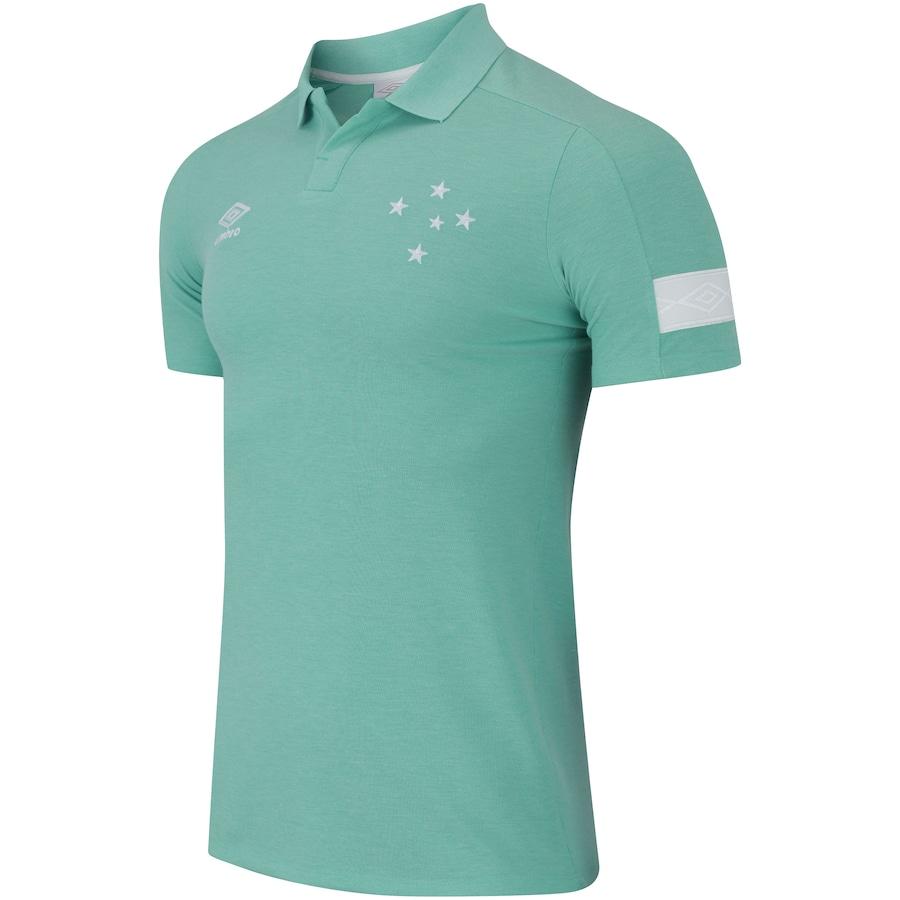 57fa787cfcc13 Camisa Polo do Cruzeiro Viagem 2018 Umbro - Masculina