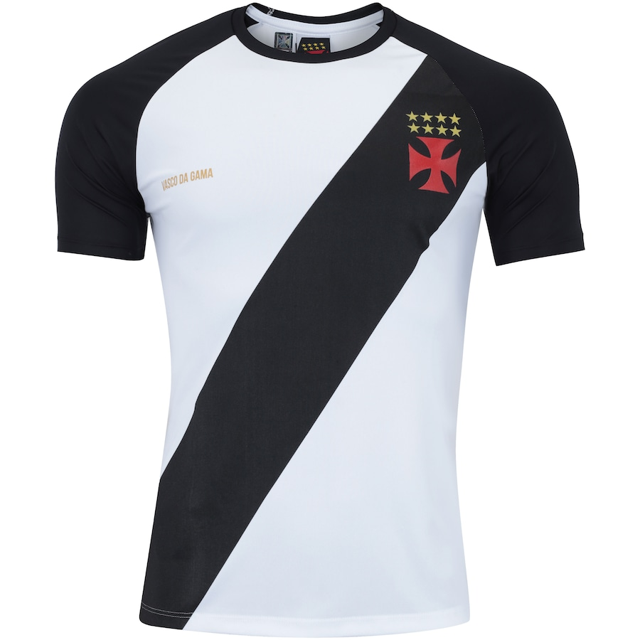 Camiseta do Vasco da Gama Base Raglan - Masculina 388948090a2d3