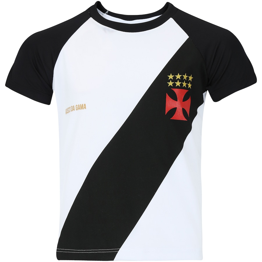 Camiseta do Vasco da Gama Base Raglan - Infantil 364154d7a7f4a