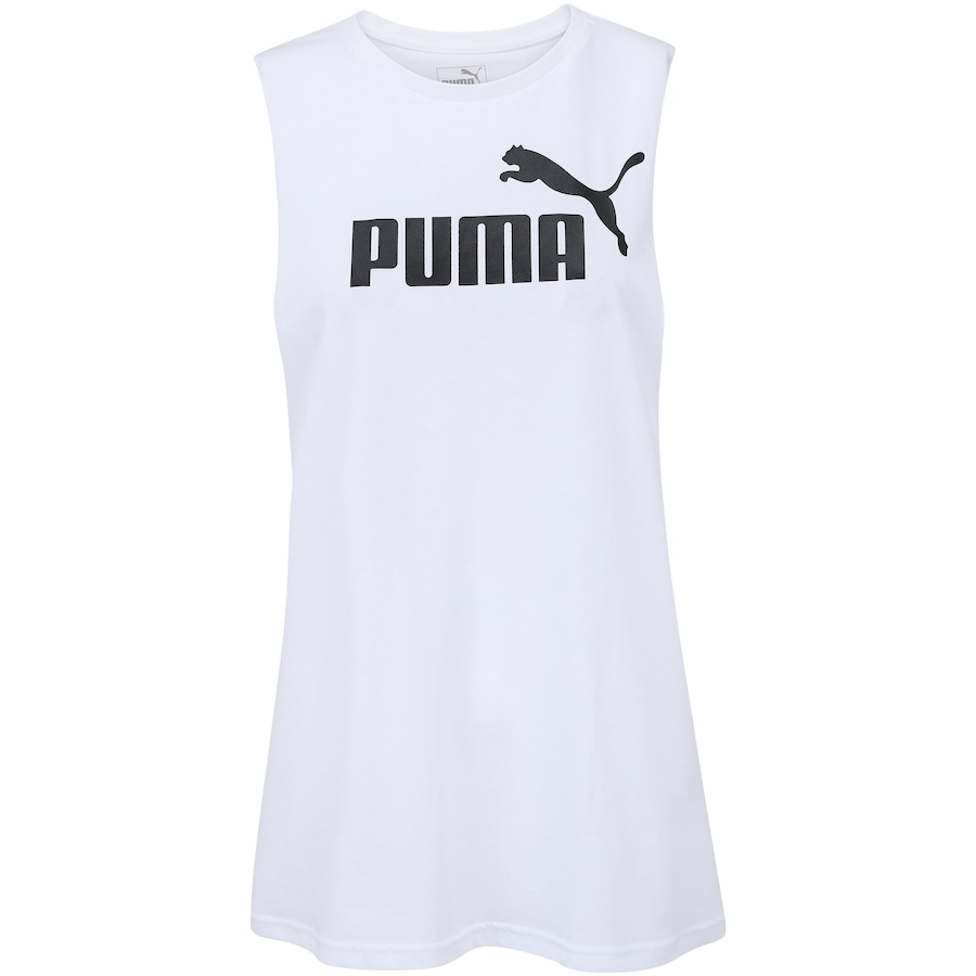 Camiseta Regata Puma Cut Off Boyfriend Tank - Feminina d3c9bf79c6b
