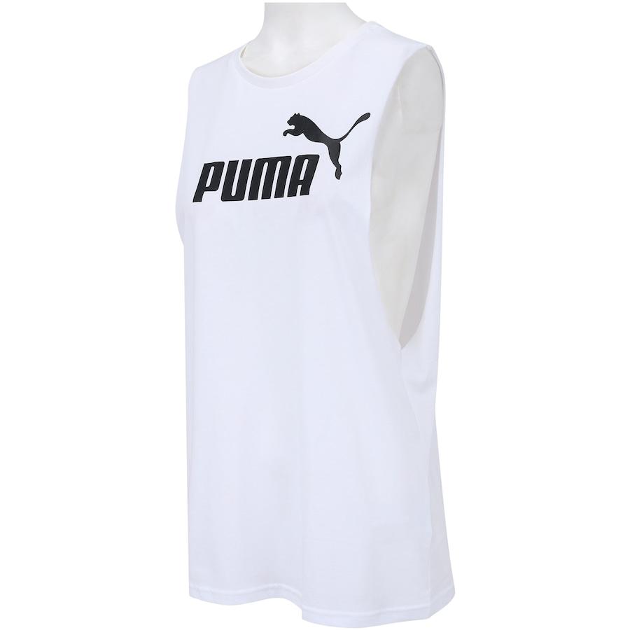 Camiseta Regata Puma Cut Off Boyfriend Tank - Feminina e412a4b283646
