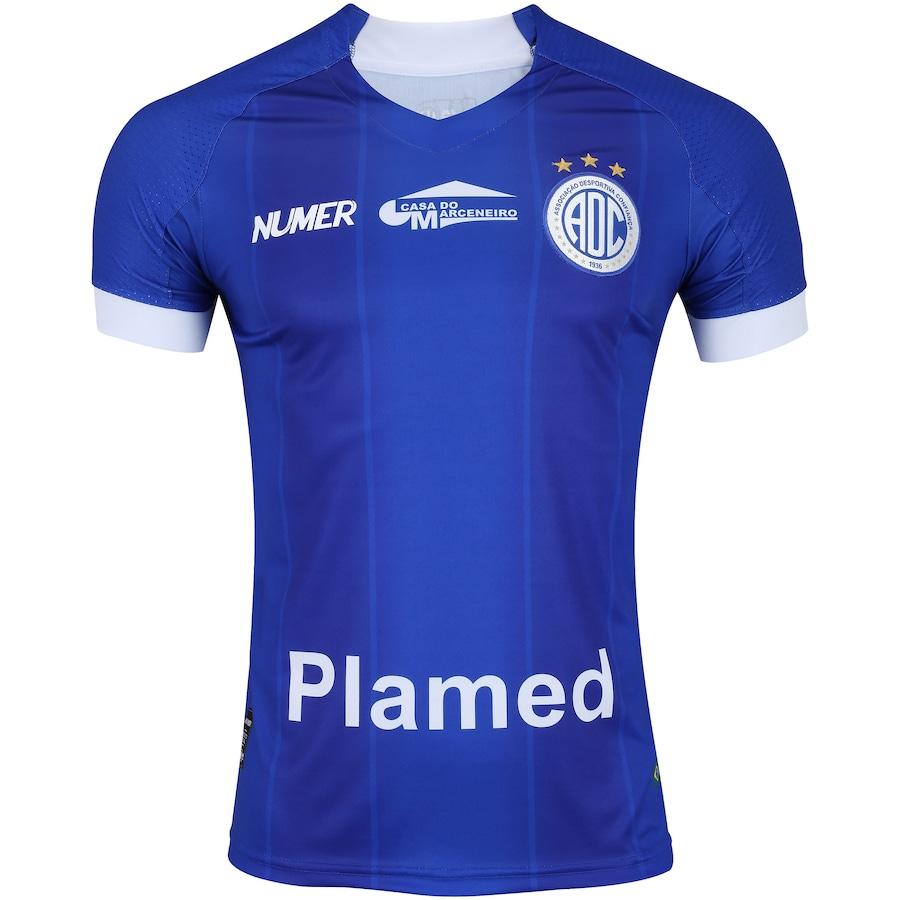 Camisa do Confiança I 2018 nº 10 Numer - Masculina 795b3c966fcf5