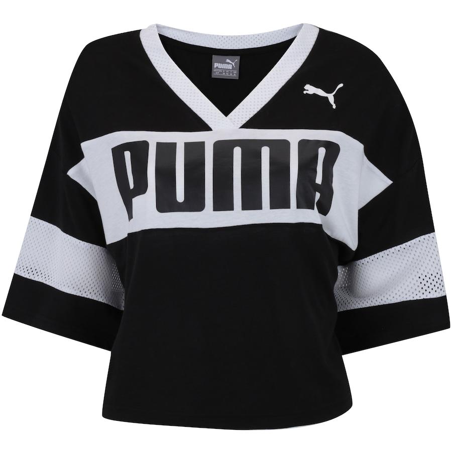 Blusa Cropped Puma Urban Sports - Feminina 520f195623ec5