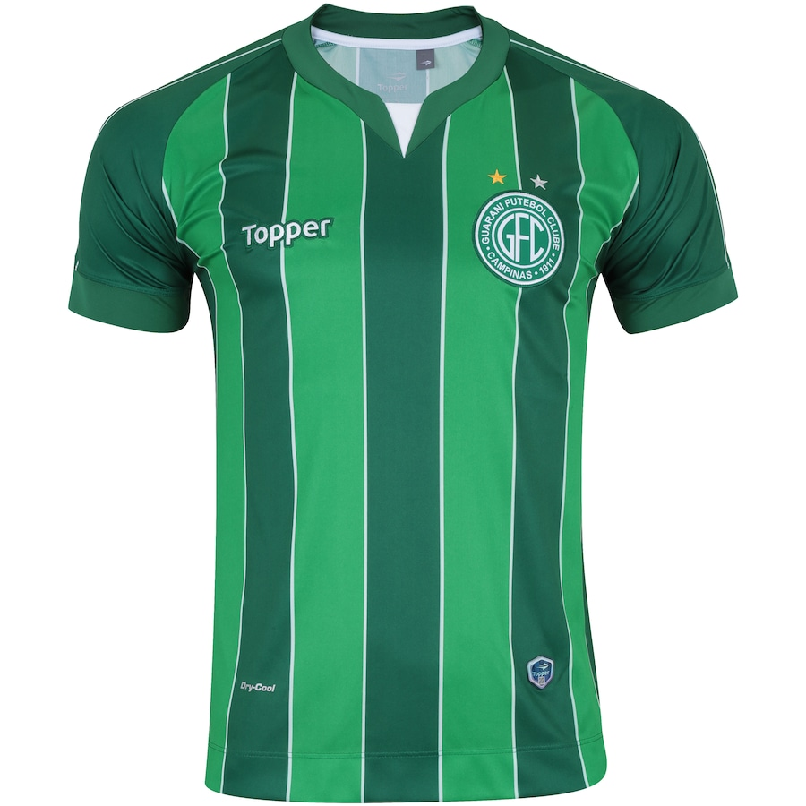 6a341dbc3 Camisa do Guarani III 2018 Topper - Masculina