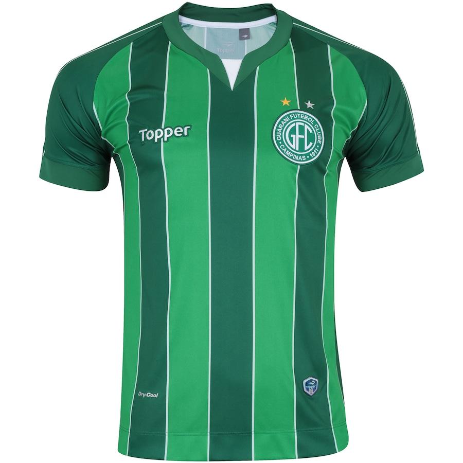 6fac1620b7 Camisa do Guarani III 2018 Topper - Masculina