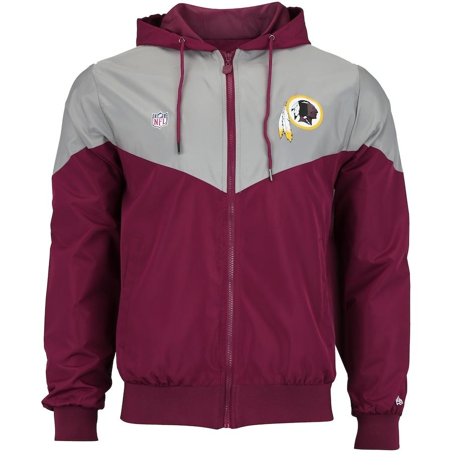 Jaqueta com Capuz New Era Washington Redskins Sport Veins - Masculina 4e5845870bf