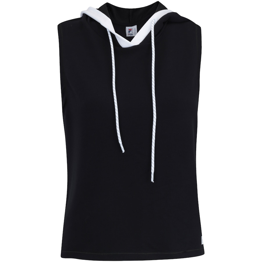 5d1c02bd06d Camiseta com Capuz Estilo Colete Fila Vest Athenas - Feminina