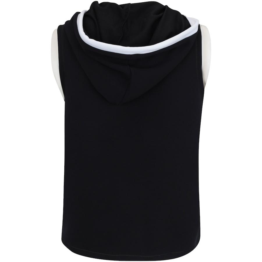 35bac3b03f Camiseta com Capuz Estilo Colete Fila Vest Athenas - Feminina