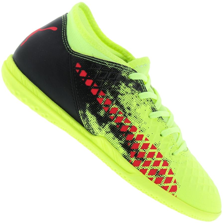 8aa89cb907711 Chuteira Futsal Puma Future 18.4 IC - Infantil