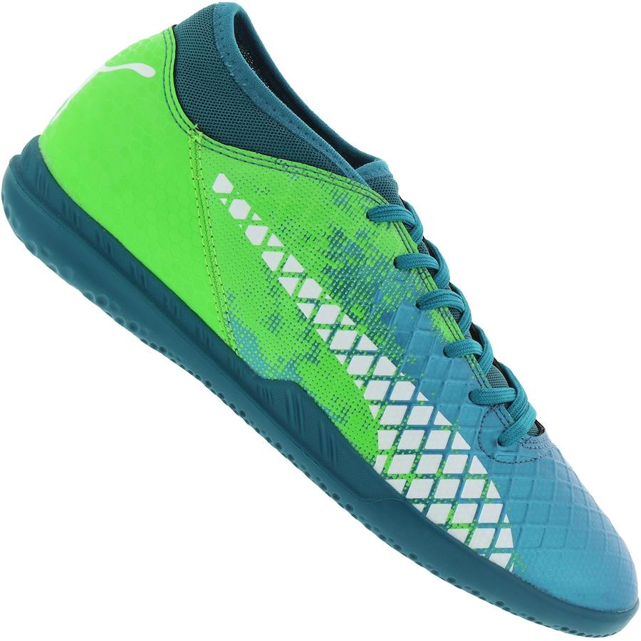 16be3a09b015f Chuteira Futsal Puma Future 18.4 IC - Adulto