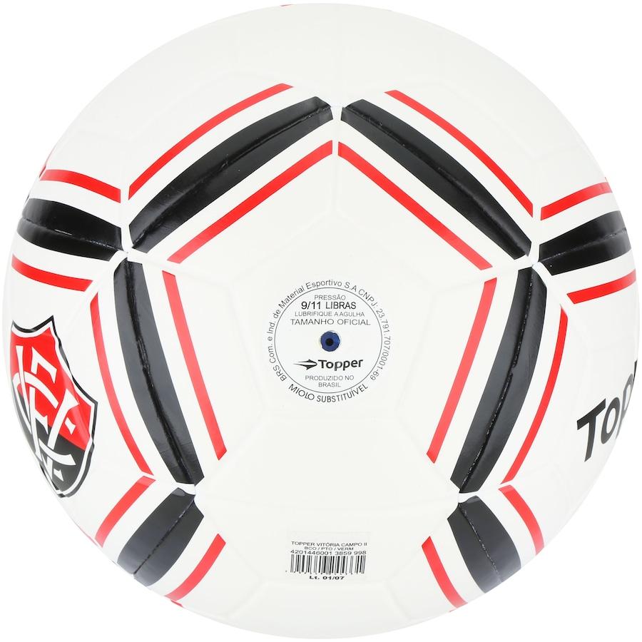 Bola de Futebol de Campo do Vitória II Topper 0d80df663affa