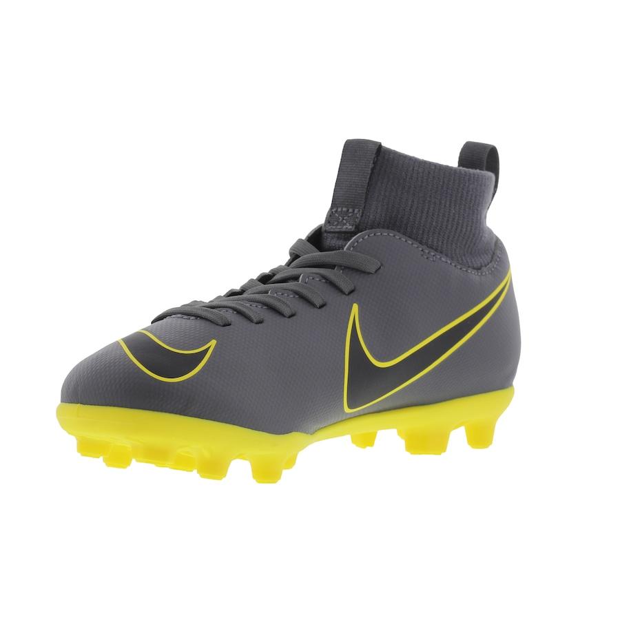 1f1fd4f3b0294 ... Chuteira de Campo Nike Mercurial Superfly 6 Club FG - Infantil. Imagem  ampliada ...