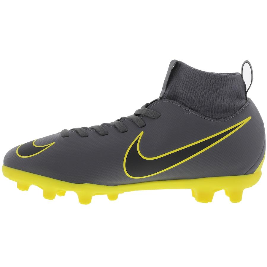 Chuteira de Campo Nike Mercurial Superfly 6 Club FG - Infantil b1f32839aac38