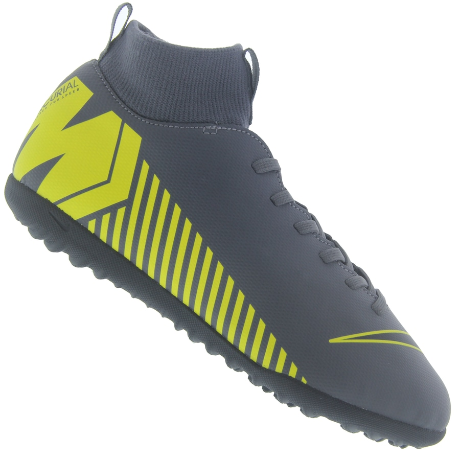 Chuteira Society Nike Mercurial Superfly X 6 Club TF - Infantil 5f07c8934f9a4