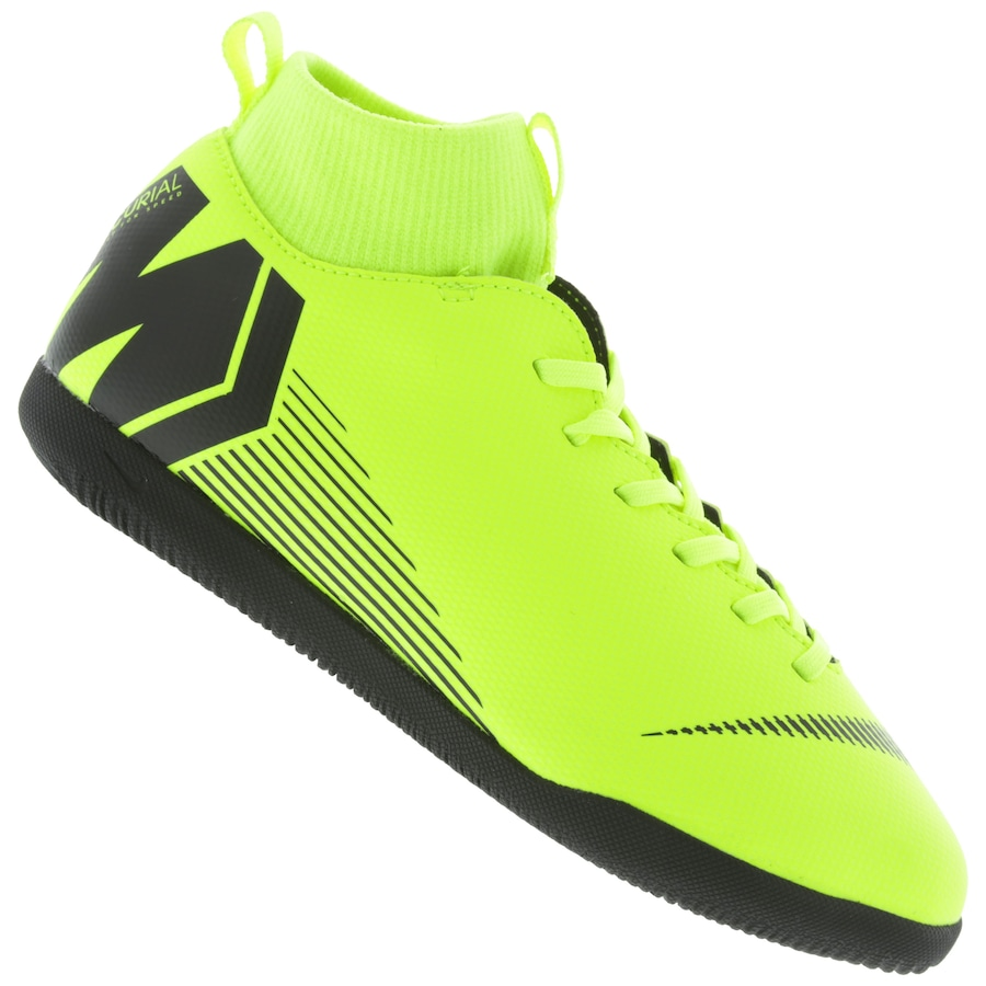 Chuteira Futsal Nike Mercurial Superfly X 6 Club IC - Infantil a73be170d7a44