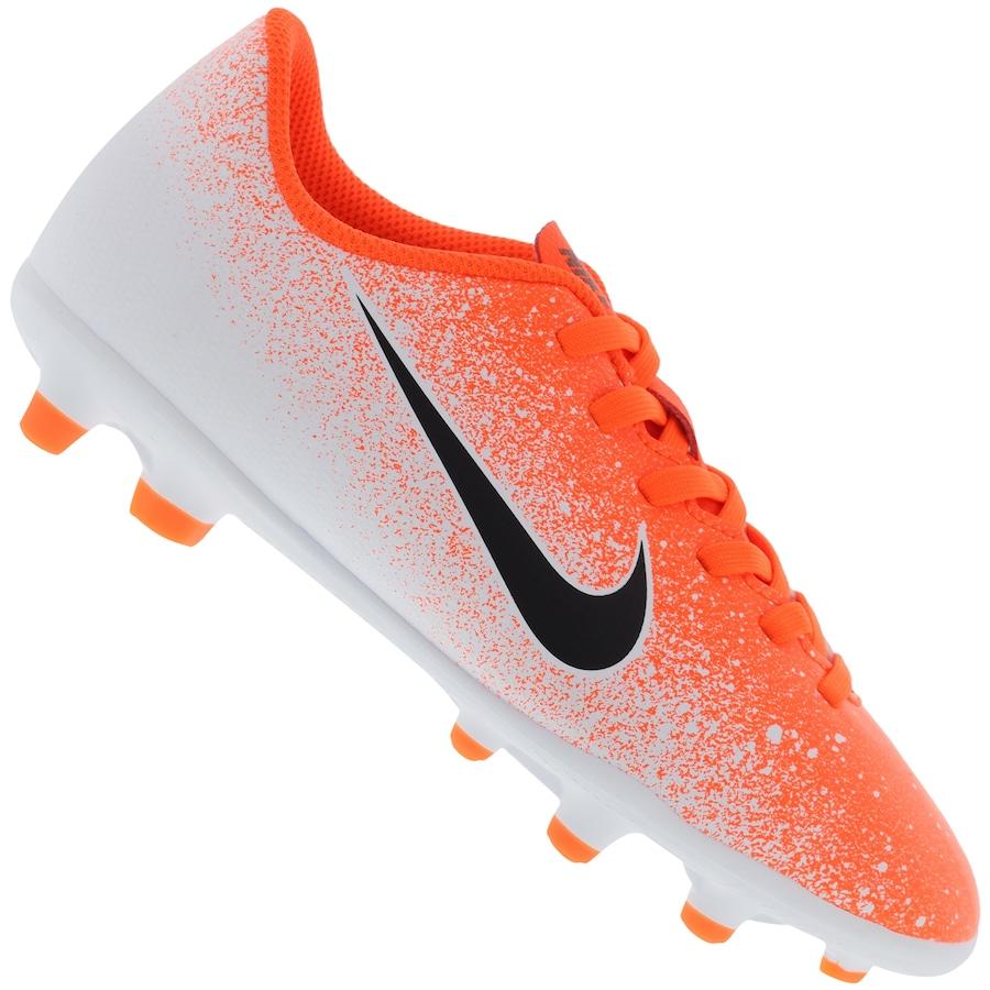nouveau style 85321 647ef Chuteira de Campo Nike Mercurial Vapor 12 Club GS FG - Infantil
