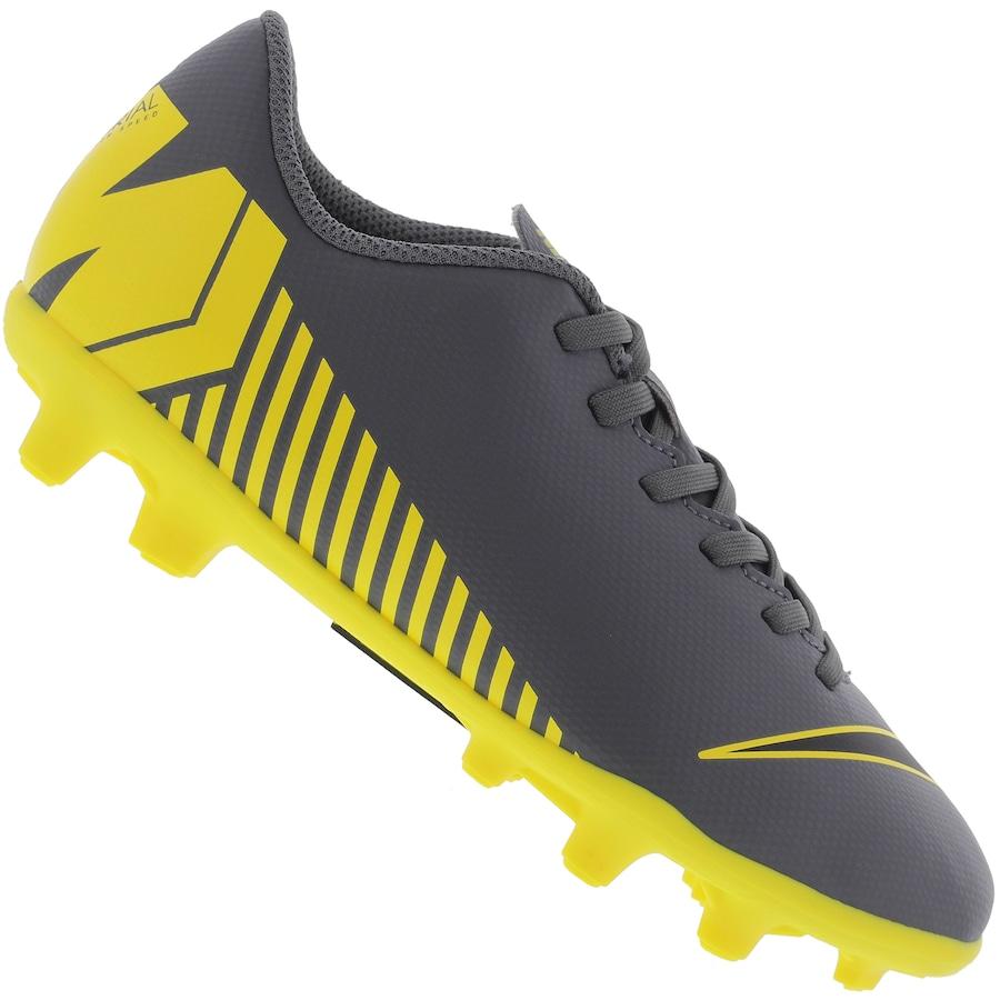 0bc6be0b5f65a Chuteira de Campo Nike Mercurial Vapor 12 Club GS FG - Infantil