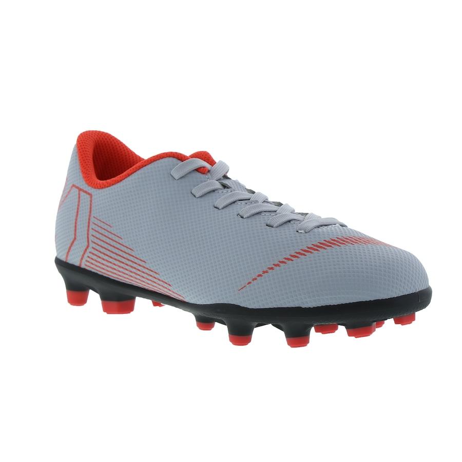 c83810c3ff Chuteira de Campo Nike Mercurial Vapor 12 Club GS FG - Infantil