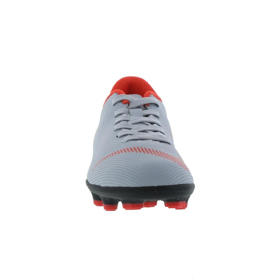 Chuteira de Campo Nike Mercurial Vapor 12 Club GS FG - Infantil 0b9b1944e7f5b