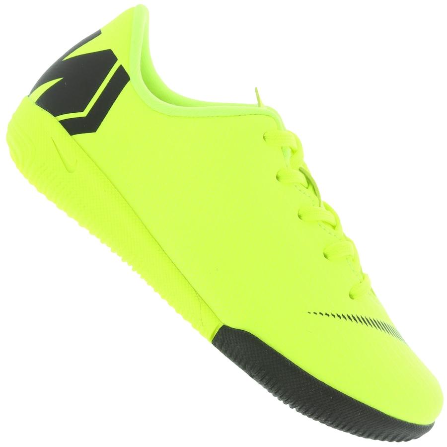 2e8abd754c Chuteira Futsal Nike Mercurial Vapor X 12 Academy IC - Infantil