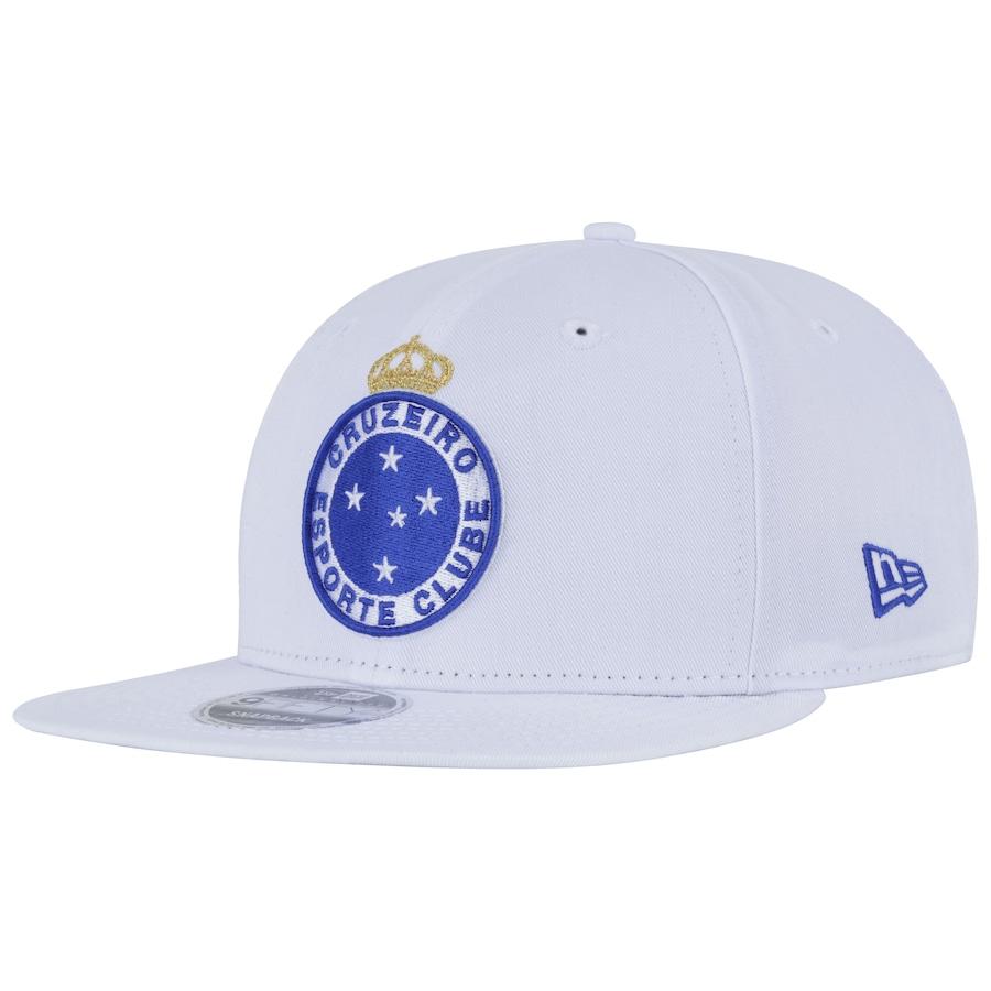 3f319b5bdf460 Boné Aba Reta do Cruzeiro New Era 950 OF SN Primary - Snapback - Adulto