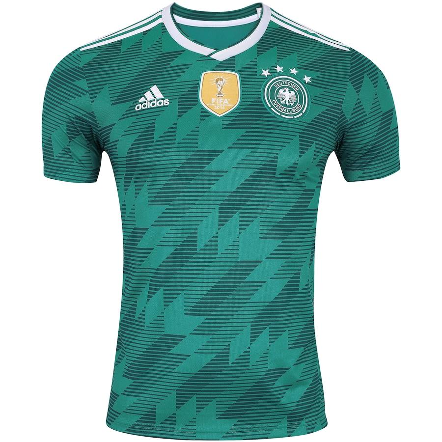 Camisa Alemanha II 2018 adidas - Masculina e83ae6bfa3f98