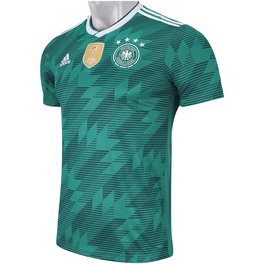 Camisa Alemanha II 2018 adidas - Masculina 9acbf8f89914d