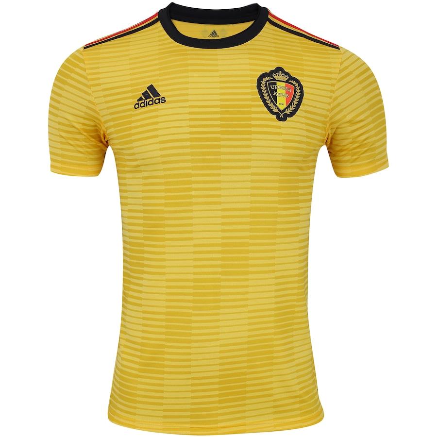 Camisa Bélgica II 2018 adidas - Masculina 8adfe0d8125eb