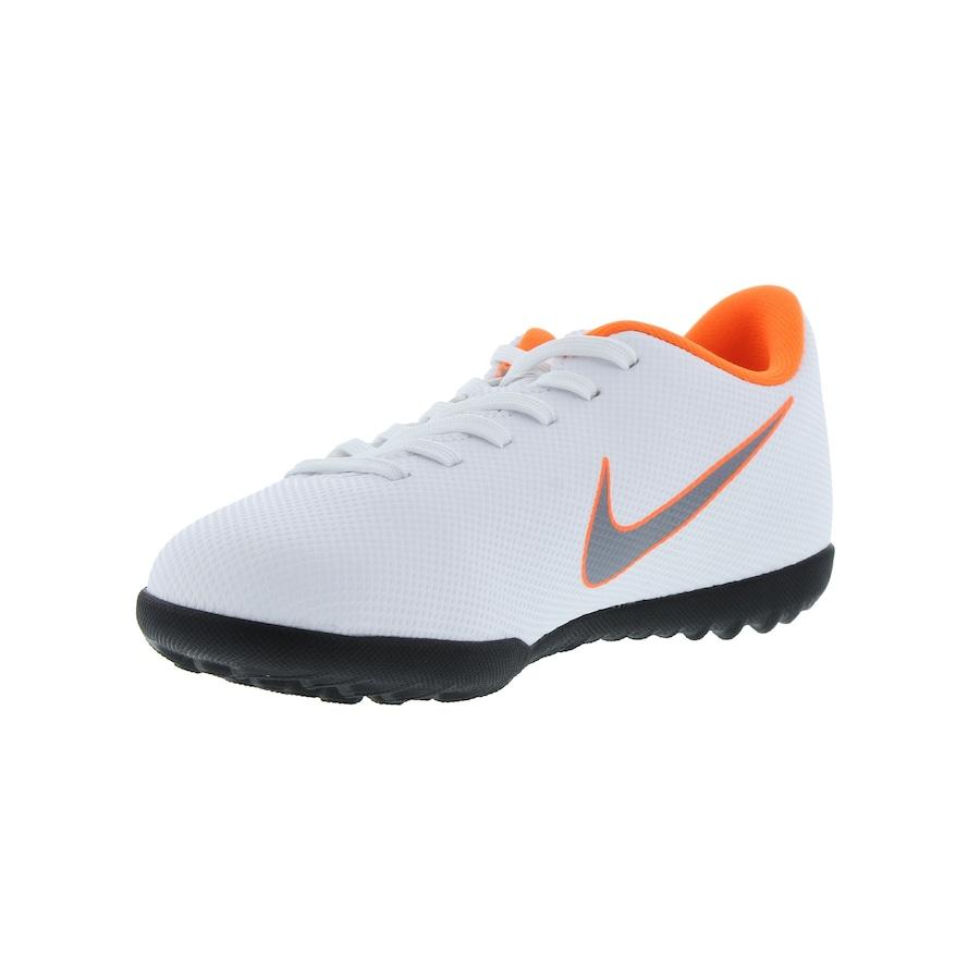 238f5a4179 Chuteira Society Nike Mercurial Vapor X 12 Club GS TF - Infantil