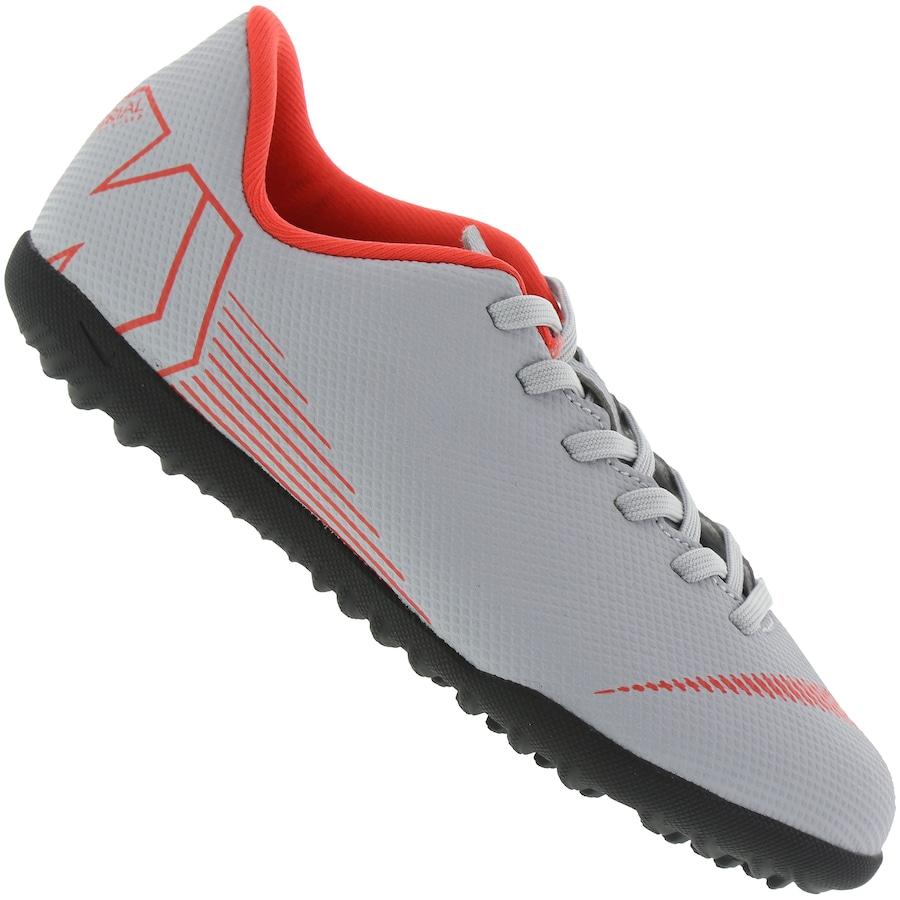 bed752aa01 Chuteira Society Nike Mercurial Vapor X 12 Club GS TF - Infantil