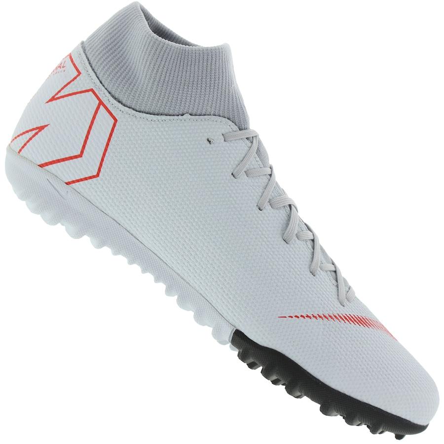 cafe4fda99b65 Chuteira Society Nike Mercurial Superfly X 6 Academy TF - Adulto