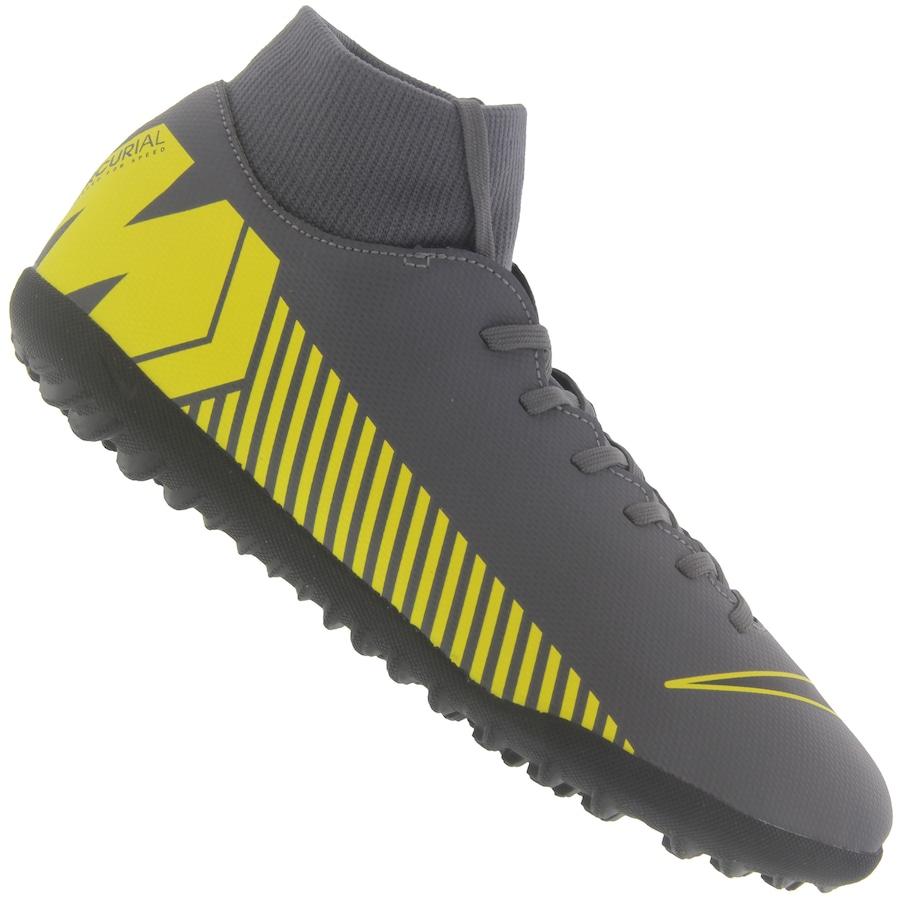 Chuteira Society Nike Mercurial Superfly X 6 Club TF - Adulto f8252f4dc2