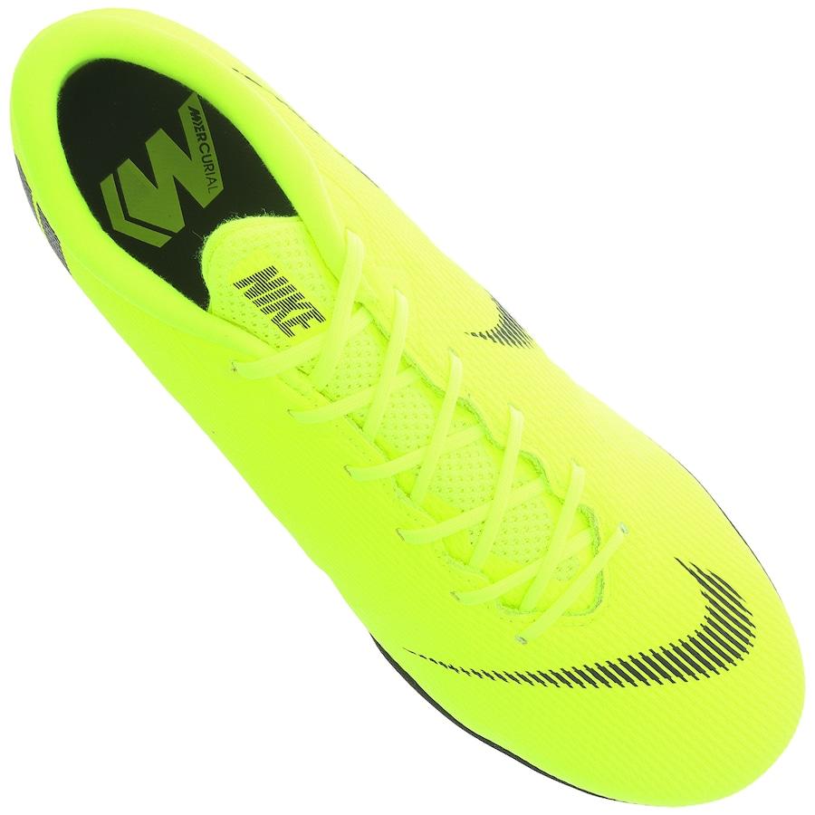 Chuteira Society Nike Mercurial Vapor X 12 Academy TF - Adulto 8d8714166e7f8