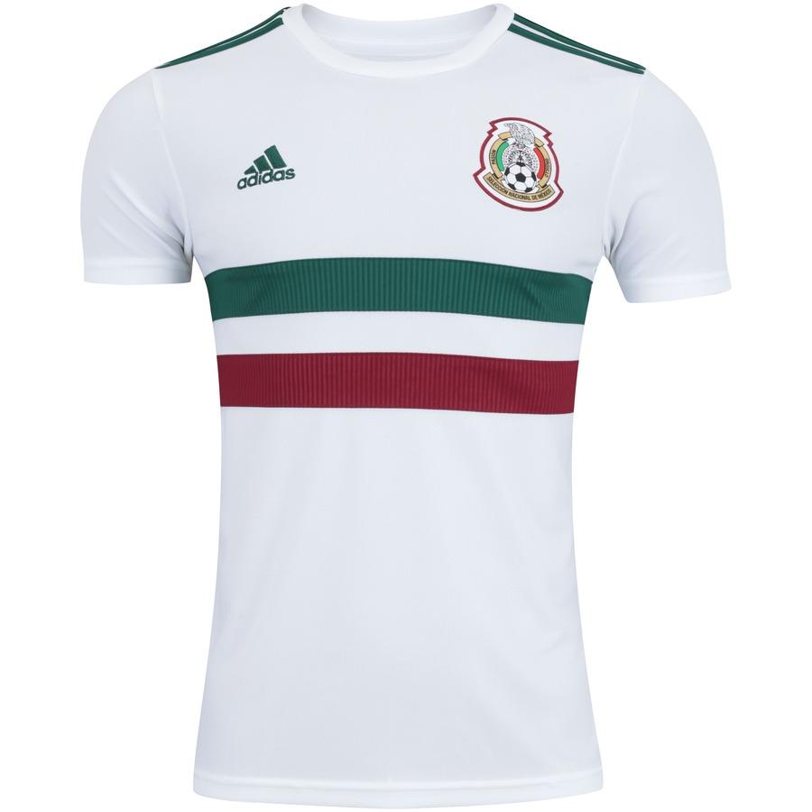 aebb5356e99f2 Camisa México II 2018 adidas - Masculina