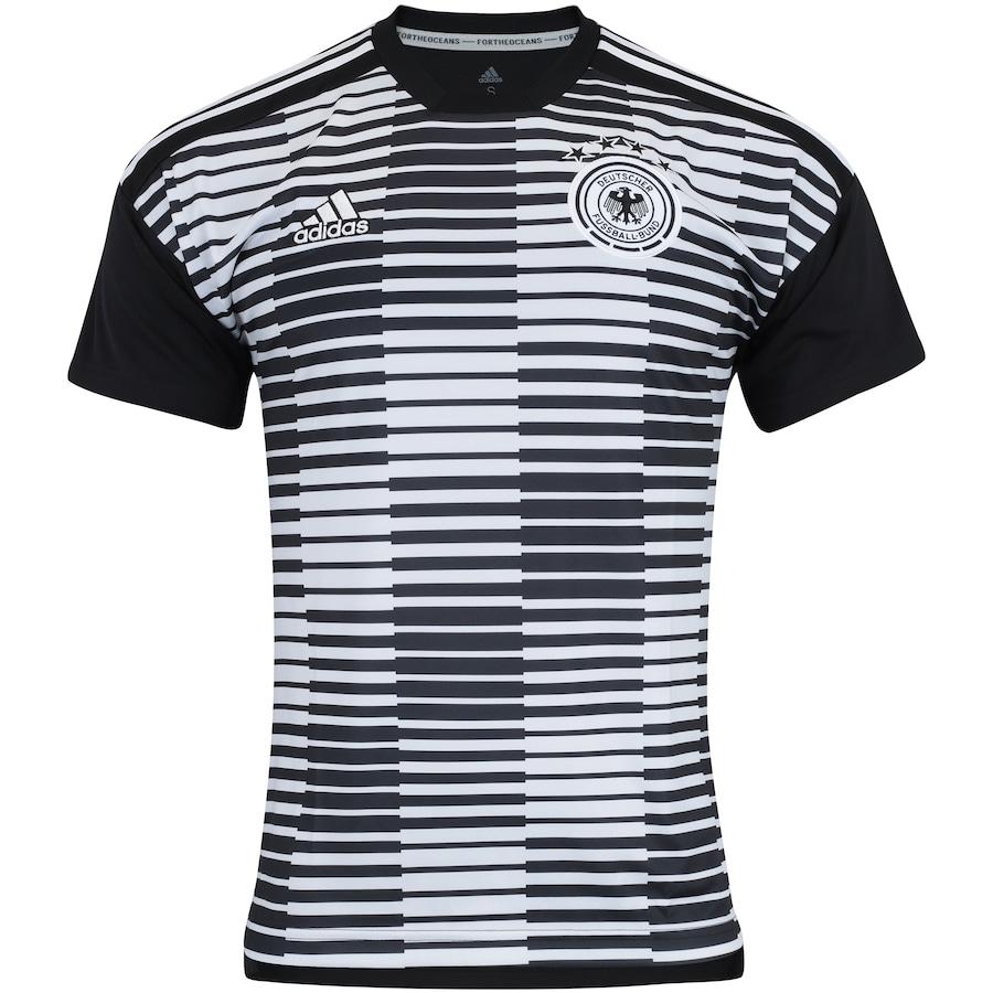Camisa Pré-Jogo Alemanha 2018 adidas - Masculina 00e72860ccc0d