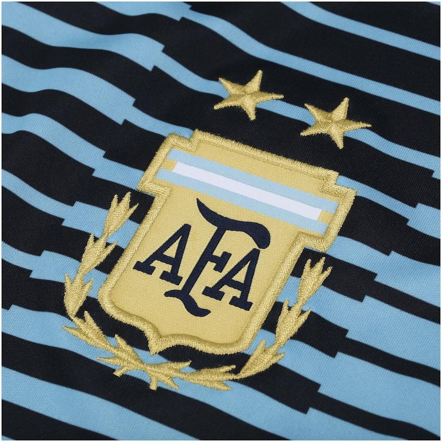 Camisa Pré-Jogo Argentina 2018 adidas - Masculina 0259d6025cef5
