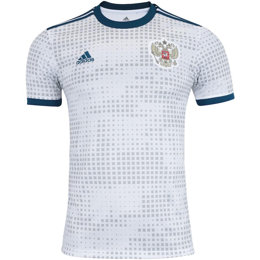 Camisa Rússia II 2018 adidas - Masculina 245ddf0dc96c9
