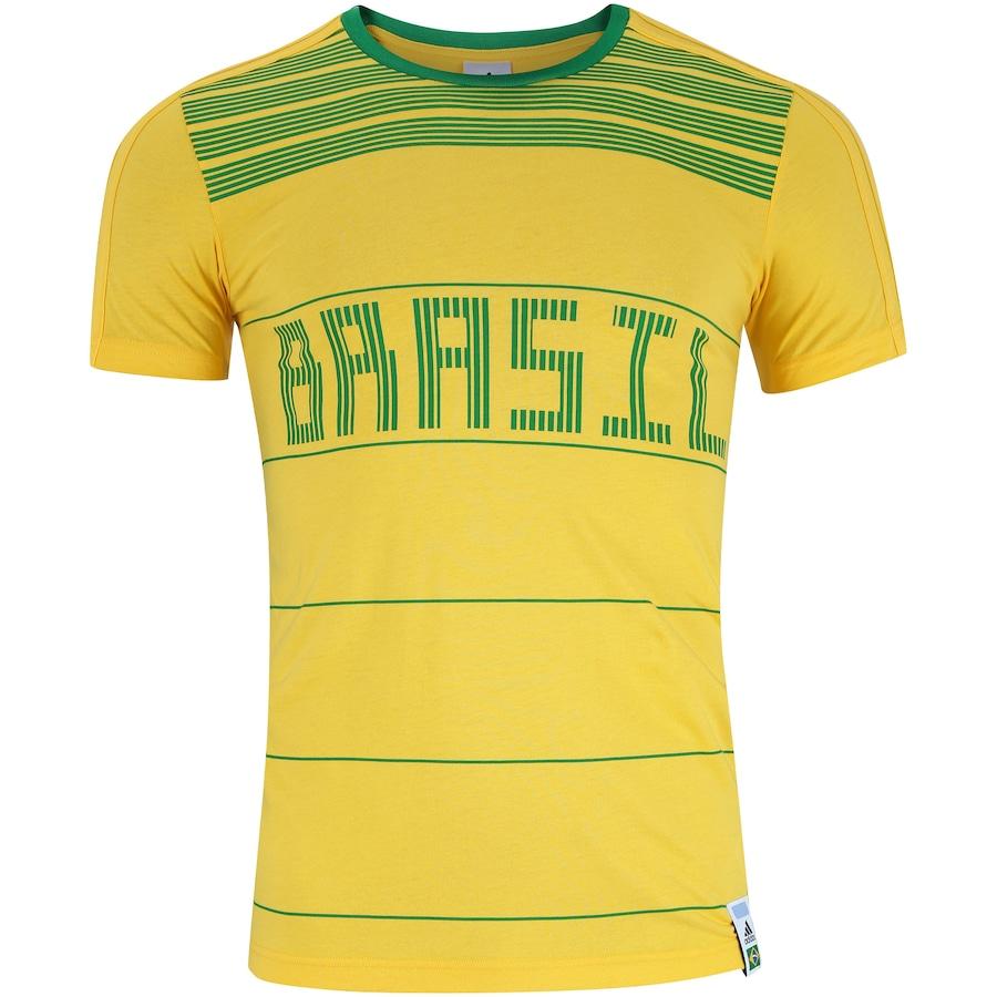 Camiseta do Brasil CI 2018 adidas - Masculina cffccb5fe140a