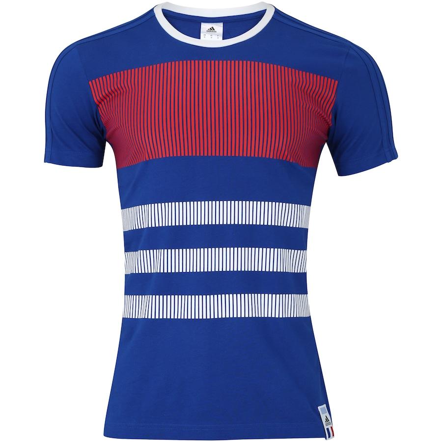 Camiseta França CI 2018 adidas - Masculina 14a901ecbde10