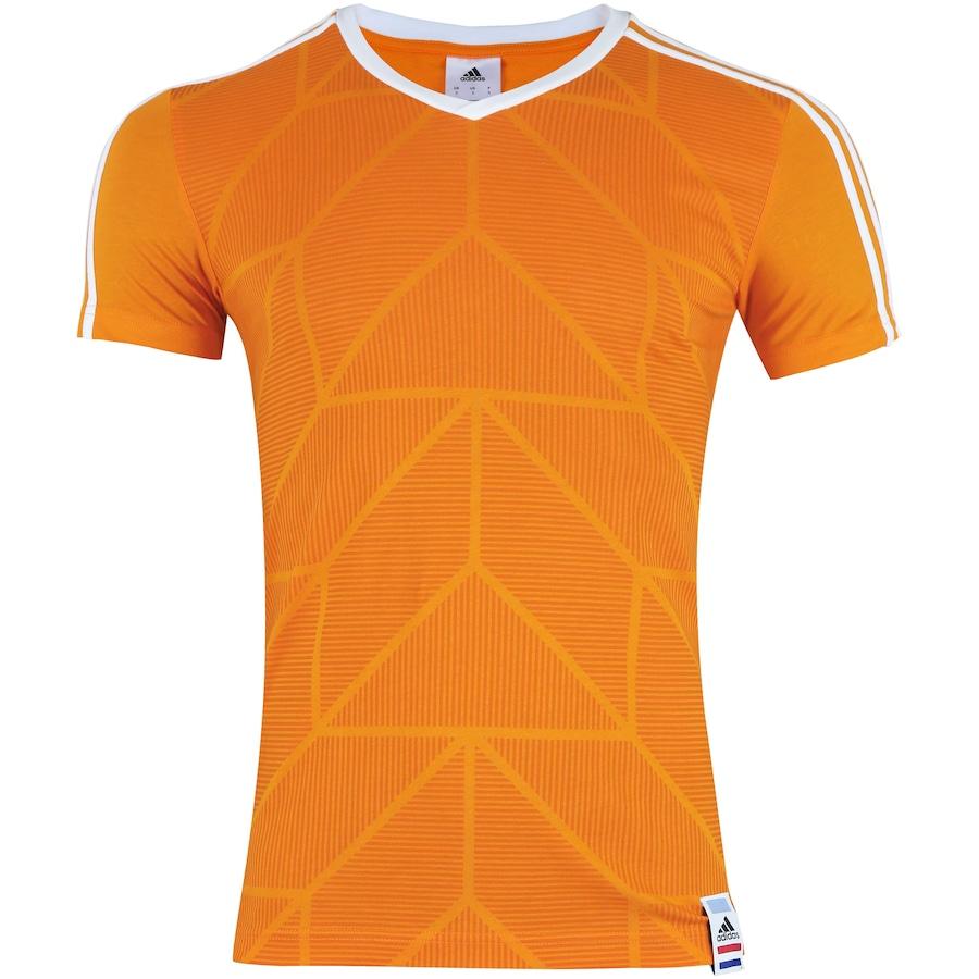 Camiseta Holanda 2018 CI adidas - Masculina b37a1f8b27619