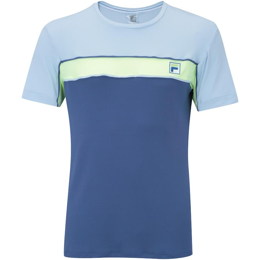 51e33bf3cf246 Camiseta com Proteção Solar UV Fila Soft - Masculina