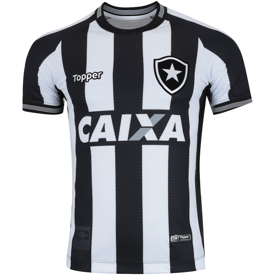 Camisa do Botafogo I 2018 Topper - Masculina 16c2be3951674